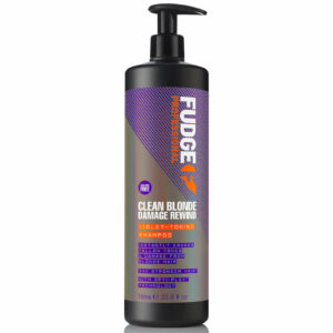 Fudge clean blonde damage rewind shampoo 1 ltr